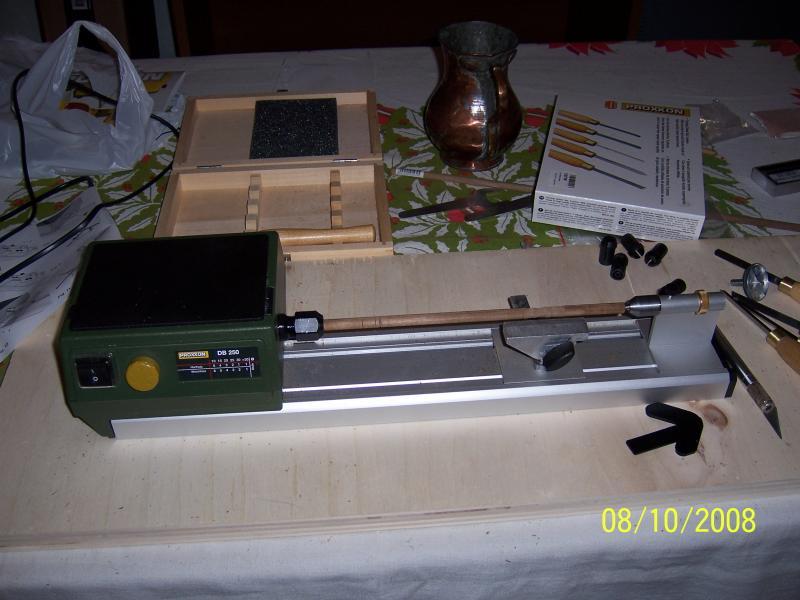 Spese folli tornio per legno e levigatrice a penna for Tornio modellismo