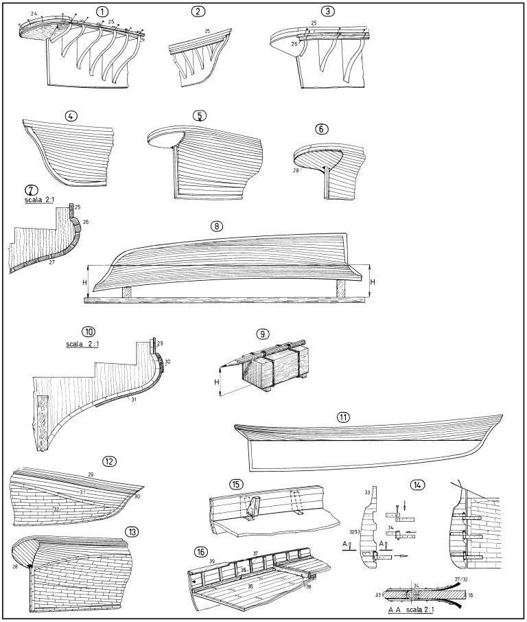 Disegni navi forum for Piani di idee per la costruzione di ponti