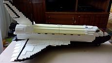 Mega Bloks Probuilder Space Shuttle 9736-img_20160925_084011.jpg
