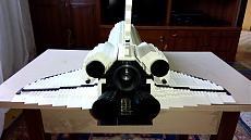 Mega Bloks Probuilder Space Shuttle 9736-img_20160925_084103.jpg