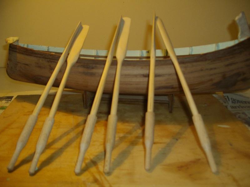 Remi in legno per gozzo