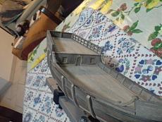 La Pinta di Colombo scala 1:60, kit Amati!-20140410_203625.jpg
