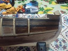 La Pinta di Colombo scala 1:60, kit Amati!-20140410_215213.jpg