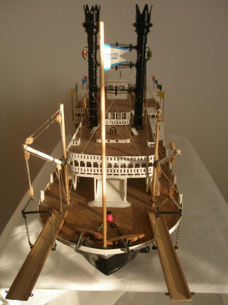 Robt e lee battello mississippi scala 1 150 forum for Disegnare piani di costruzione in scala