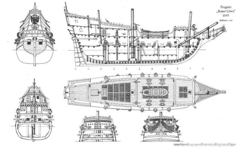 Primo cantiere in autocostruzione golden hind da piani for Piani di ponte ottagonale