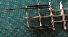 Thomas A. Edison [1904] battello a ruota [autocostruzione]-10-struttura-scafo-supporti-motore_ruota.jpg