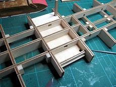 Thomas A. Edison [1904] battello a ruota [autocostruzione]-12-struttura-scafo-sostegni-montanti.jpg