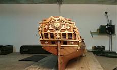 Fregata leggera L'aurore scala 1/48 di carmelo (arsenale)-poppa-specchio.jpg
