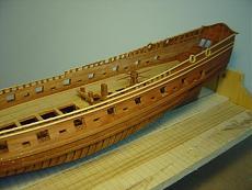 Fregata leggera L'aurore scala 1/48 di carmelo (arsenale)-fasciatura-opera-morta-e-applicazione-listoni-modanati.jpg