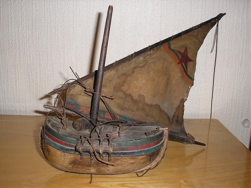 Modellino barca legno la cura dello yacht for Barchetta da pesca