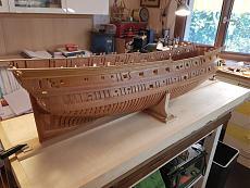 Le Boullongne, vascello della Compagnia delle Indie - Monografia Ancre  scala 1:40-20190902_165657.jpeg