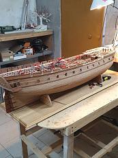 Fregata L'HERMIONE (arsenale) scala 1/48 di Carmelo Tuccitto-20190924_174042.jpeg
