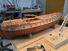 Fregata L'HERMIONE (arsenale) scala 1/48 di Carmelo Tuccitto-20191003_163043.jpeg