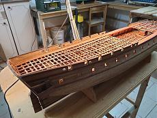 Fregata L'HERMIONE (arsenale) scala 1/48 di Carmelo Tuccitto-20191003_163001.jpeg