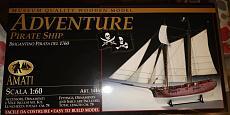 Costruzione ADVENTURE Pirate Ship AMATI (1:60)-img_20200320_224335.jpeg