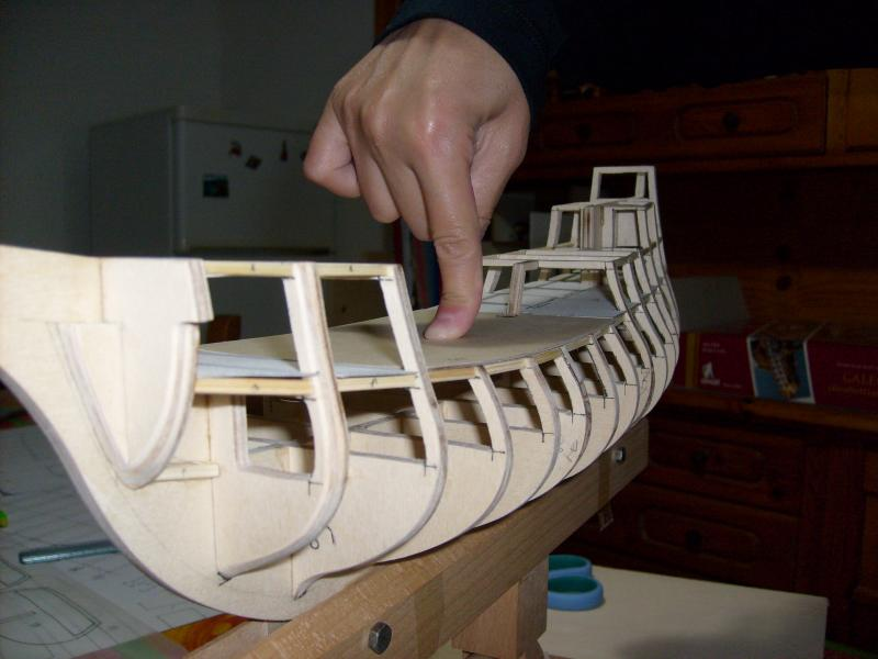 Come costruire un galeone la cura dello yacht for Piani di costruzione casa