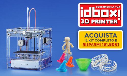 Costruisci la tua stampante 3d idbox modelspace for Costruisci la tua planimetria