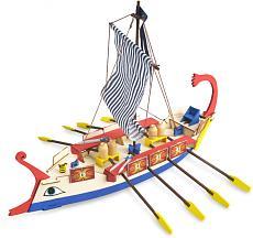 Le collezioni per ragazzi Artesania Latina ora disponibili su ModelSpace DeAgostini-ave-cesar-galera-romana.jpg