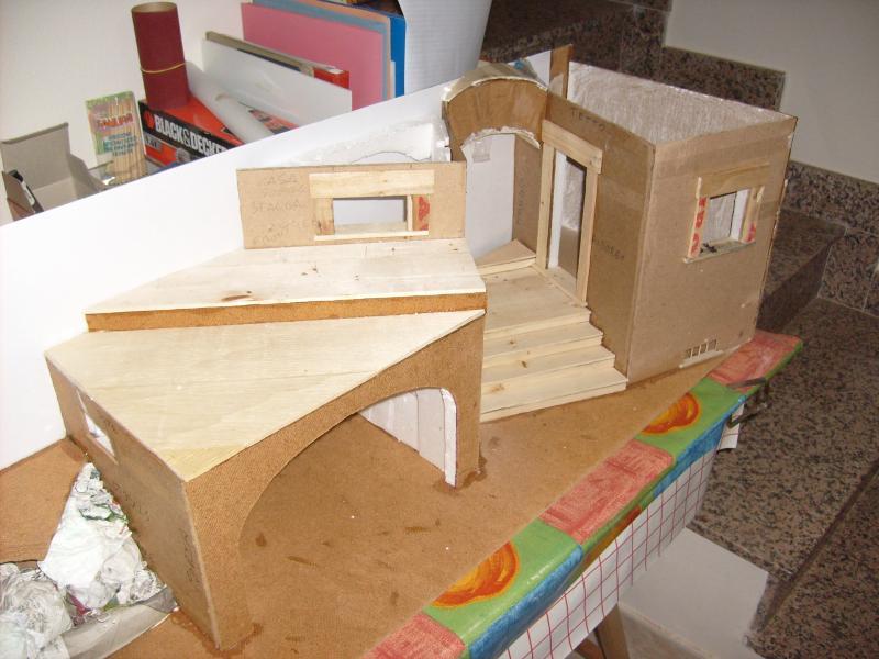 Il presepe un diorama natalizio pagina 2 forum - Casette di cartone da costruire ...