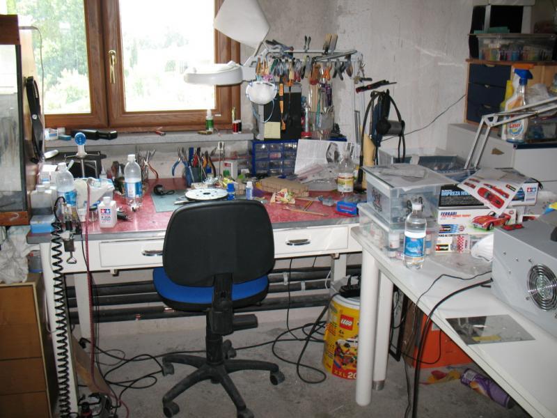 Tavoli Da Lavoro Per Modellismo : Varie] la nostra postazione di lavoro pagina 6 forum modellismo.net