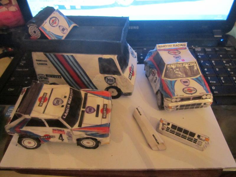 Papercraf lancia assistenze rally forum for Papercraft lancia