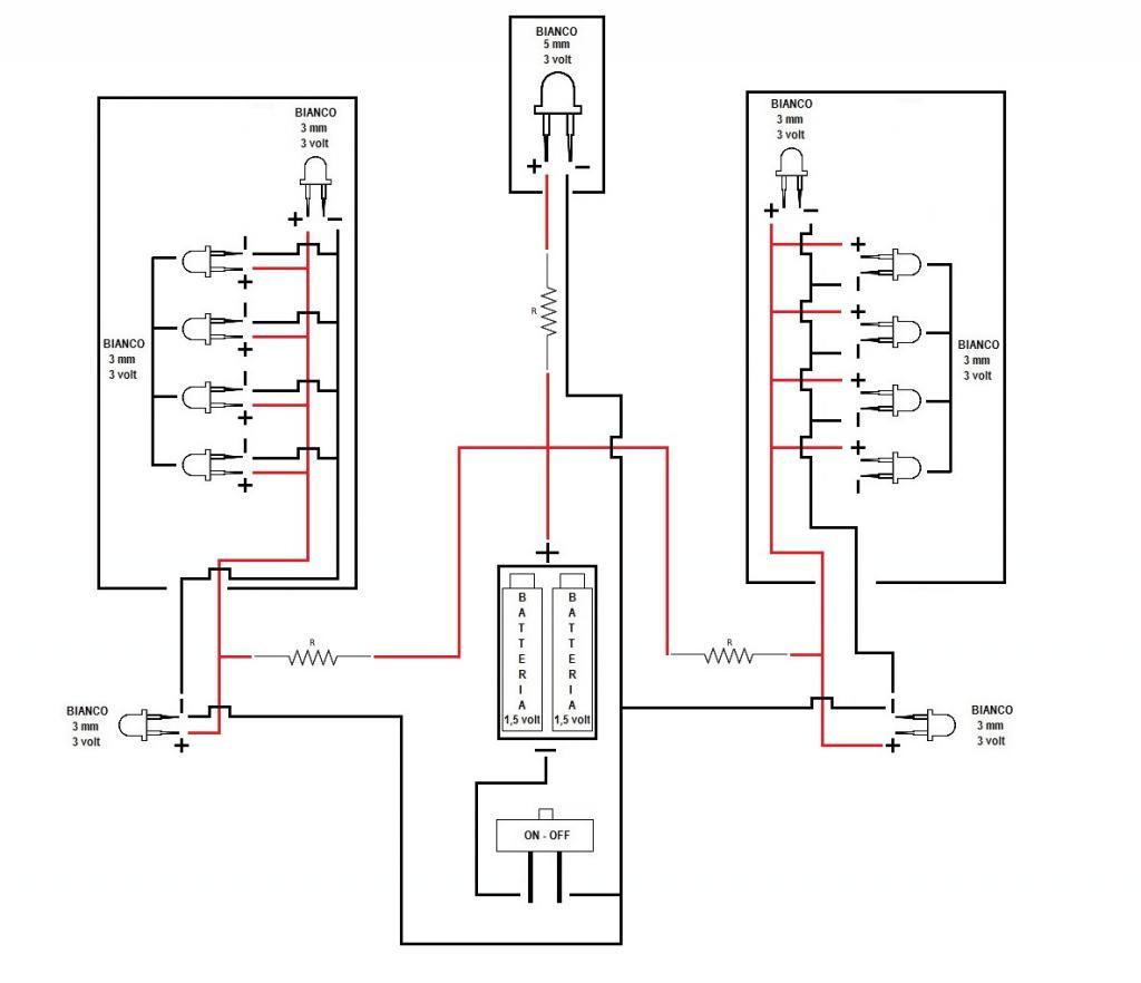Schema Elettrico Led : Informazioni per impianto led forum modellismo