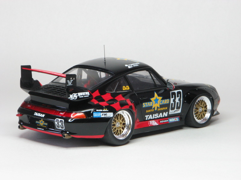 181132056438 furthermore 32635 Tamiya 24175 Taisan Starcard Porsche 911 Gt2 4950344992577 besides  additionally 161944 in addition 124 RWB Porsche 993 Wide Body Kit Product 8187. on tamiya taisan starcard porsche 911 gt2