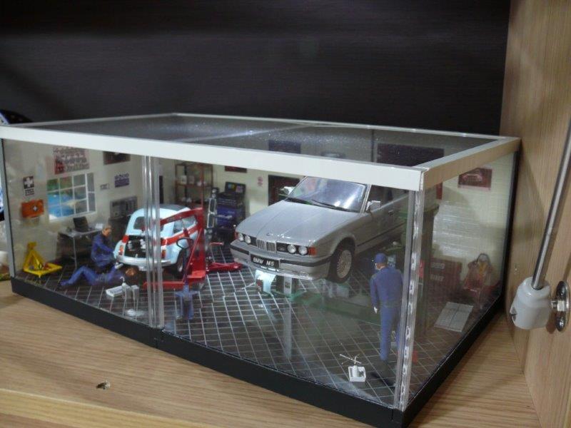 Diorama garage fujimi forum for 2 costi di costruzione del garage per auto