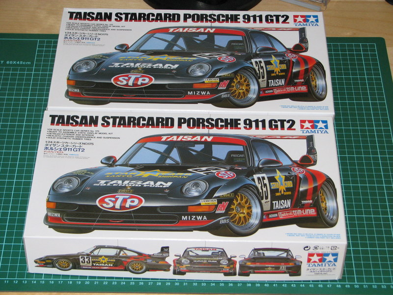 auto tamiya taisan starcard porsche 911 gt2 1995 scala 1 24 forum. Black Bedroom Furniture Sets. Home Design Ideas