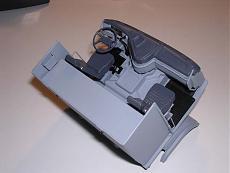 Wip Italeri 1/24 - Volvo Fh-16 Globetrotter Xl-cabina3.jpg