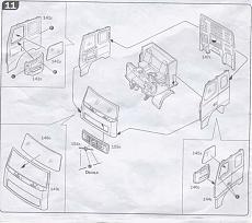 Wip Italeri 1/24 - Volvo Fh-16 Globetrotter Xl-istruzioni1.jpg