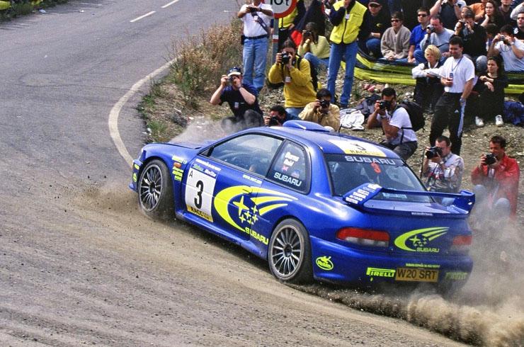 Subaru 22b rally