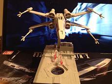 [StarWars] Bandai  1/72 X-Wing Starfigther  [finito]-009.jpg