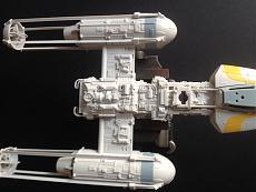 [StarWars]  Diorama + Y-Wing Starfighter  - Bandai 1/72-img_8619.jpg