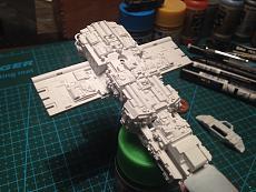 [StarWars]  Diorama + Y-Wing Starfighter  - Bandai 1/72-img_8868.jpg