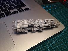 [StarWars]  Diorama + Y-Wing Starfighter  - Bandai 1/72-img_8933.jpg