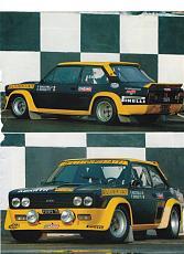 """[AUTO]Fiat 131 italeri 1 """"Olio fiat""""-2.jpg"""