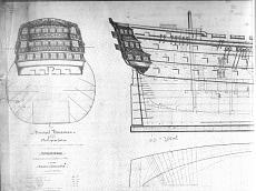 a grande richiesta...i piani della Victory del 1765-hms-victory-1765-elevazione-laterale-ed-interni-1-.jpg.jpg Visite: 4224 Dimensione:   81.7 KB ID: 75711