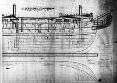 a grande richiesta...i piani della Victory del 1765-hms-victory-1765-elevazione-laterale-ed-interni.jpg