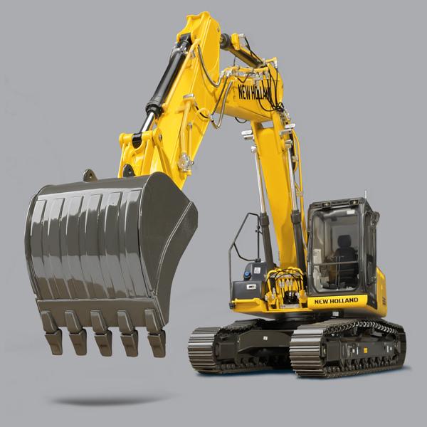 L'Escavatore New Holland E215C arriva in edicola con Hachette - Forum Modellismo.net