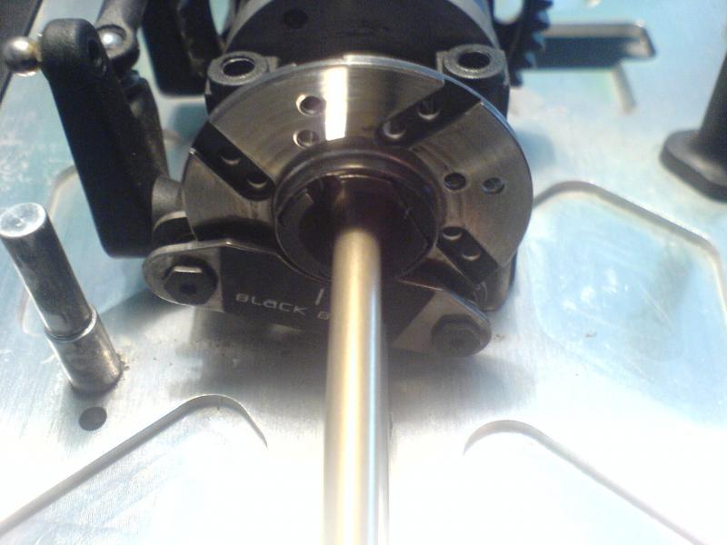 DSC00831 Dischi forati e baffati il disco anteriore è addirittura più grande del psteriore.