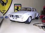 Alfa-Romeo GTAM 2000 1971 Hand-made by myself nel 1995 su base kit 1:24 Gunze-Sangyo del 1992.