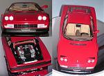 Ferrari Testarossa 1984 realizzata da me nel 2008 su base del kit Tamiya in scala 1:24 del 1986.